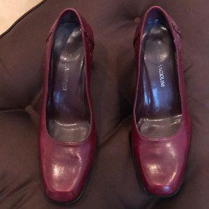 Oxblood Enzo Angiolini Heels Size 6